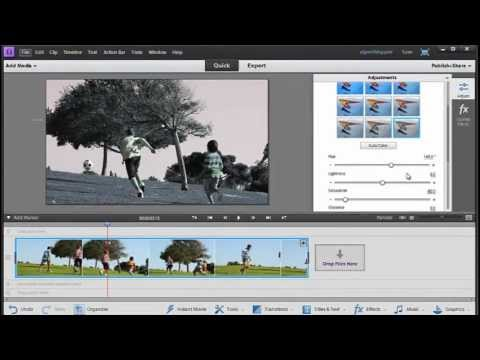 New in Adobe Premiere Elements 11