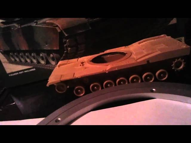 Building a 1/8th scale abrams M1A1 RC TANK to hit  50km/h  #1