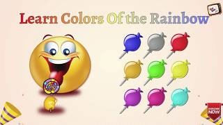 Learn Colors With Lollipops | Which Color is This ? | Fun Kids Tv Nursery Rhymes & Children Songs