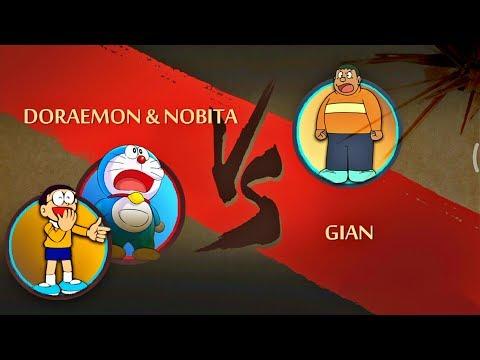 Shadow Fight 2 Doraemon & Nobita Vs Gian thumbnail