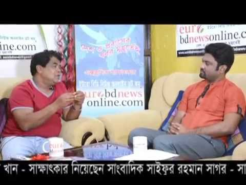 Interview Of Bangladeshi Actor Sohel Khan With Shaifur Rahman Sagar By eurobdnewsonline.com