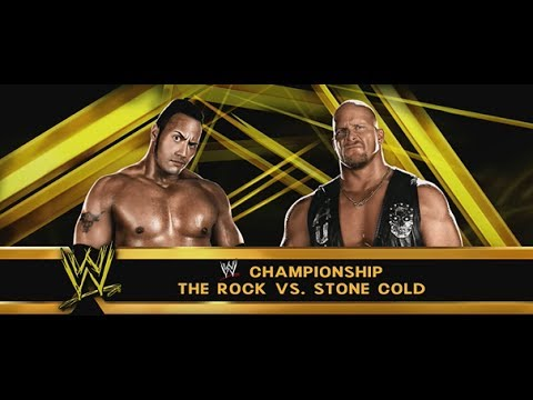 Wwe 2k14 - The Attitude Era Wrestlemania 17 - The Rock Vs Stone Cold video