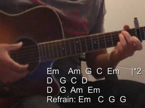 All i want is you guitar chords