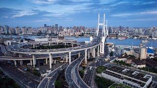 Shanghai! Nanpu Bridge 2017! HD!