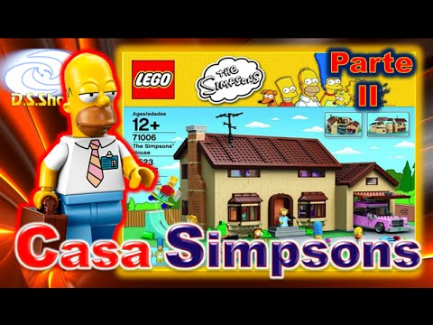The Simpsons House Review en Español 2/2 Casa de los Simpson LEGO 71006