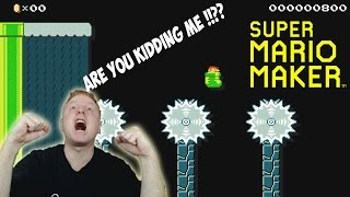 SUPER MARIO MAKER #5 - RAGING ON A VIEWER MADE LEVEL