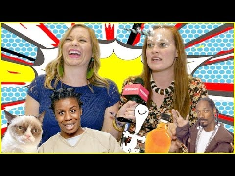 Mamrie Hart Talks Sexting Li'l Bub, Peeing Maple Syrup, And More! | Vidcon 2014 video