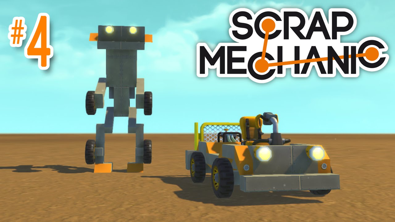 Как сделать робота в скрап механик 464