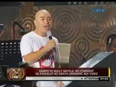 WALLY BAYOLA AND EB BABE YOSH NAGSALITA NA SA SAKSI