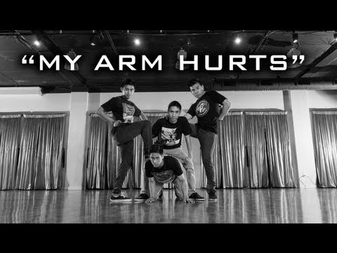 my Arm Hurts By Poreotics | Choreography + Freestyle video