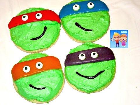Ninja turtle shell cupcakes