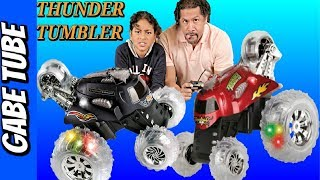 Top Toys THUNDER TUMBLER RC 360-Degree Rally Car feat TUMBLE BEE RC REVIEW & UNBOXING Gabe Tube TV