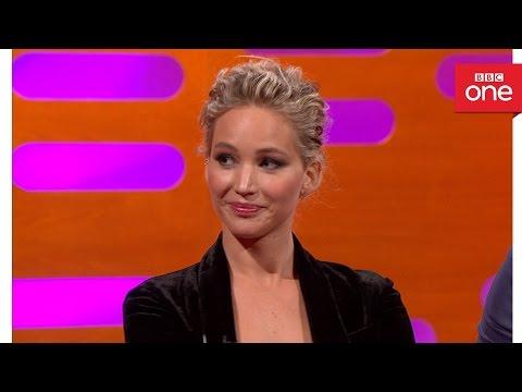 Chris Pratt and Jennifer Lawrence's year book awards  - The Graham Norton Show 2016: Episode 9 - BBC