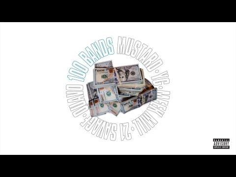 Download Mustard feat. Quavo, 21 Savage, YG, Meek Mill - 100 Bands Audio Mp4 baru