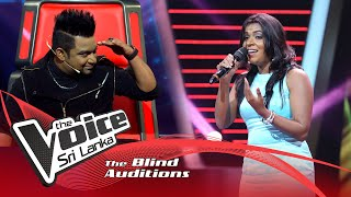 Kumudika Attanayake - Sanda Sisile  Blind Auditions | The Voice Sri Lanka