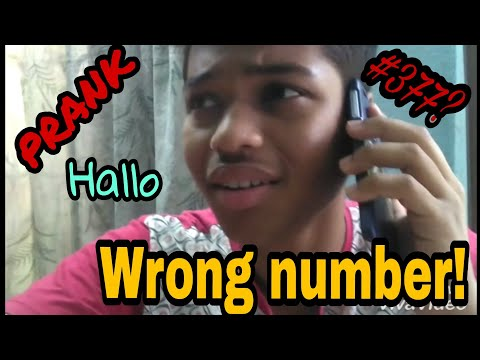 Wrong number! || Prank call || #377? || Pranking on phono call || Bengal funny video
