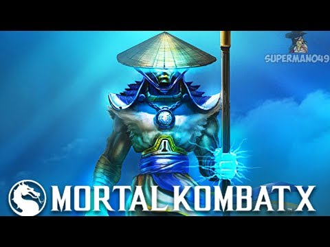 I GOT DESTROYED BY LORD RAIDEN - Mortal Kombat X: Erron Black Gameplay Fatality & Brutality