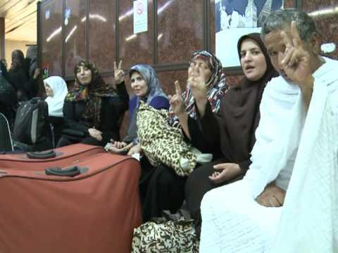 Bereaved Libyan families make Mecca pilgrimage