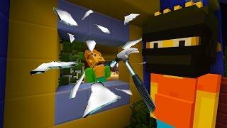 Bart Simpson Breaks into School | The Simpsons | Minecraft Xbox [40]