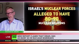 Israel 'secretly' has 80-90 nukes - SIPRI report