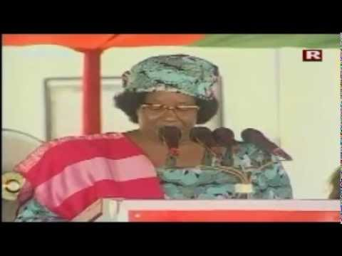 Joyce Banda Speech at Gonapamhanya Cultural Ceremony - November 2012