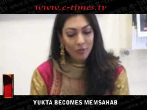 YUKTA BECOMES MEMSAHAB Video