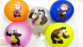 """The Balloon surprise Show"" for learning colors 🎈 children"