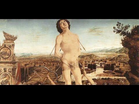 1 Antonio and Piero del Pollaiuolo: The Martyrdom of Saint Sebastian, c.1475, National Gallery