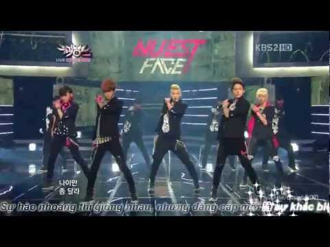 Vietsub Face - Nuest (MusicBank)