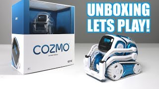 Unboxing & Lets Play - BLUE COZMO - Limited Edition -  Anki's New Cute Robot (FULL REVIEW!)