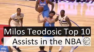 Milos Teodosic Top 10 Assists of his NBA Career
