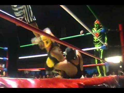 Lucha Libre a Pantalla: Karonte, Hijo de Mongol Chino vs Super Parka...