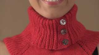 #31 Pop Collar Dickey, #32 Lace Panel Dickey, #33 Turtleneck Dickey, Vogue Knitting Fall 2013