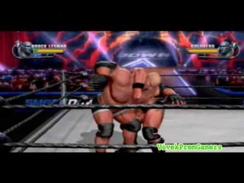 WWE All Stars Goldberg vs Brock Lesnar Gameplay