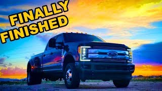 Auction 2017 Ford F350 Rebuild Part 24