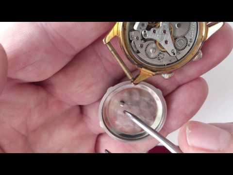 Чистка и смазка наручных часов своими руками 25