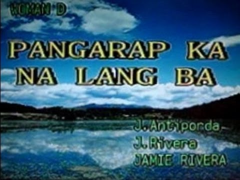 [22981] PANGARAP KA NA LANG BA (Jamie Rivera) ~ 금영 노래방/KumYoung 코러스 HD3000 Videoke/Karaoke