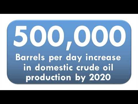 Crude exports could increase domestic crude production