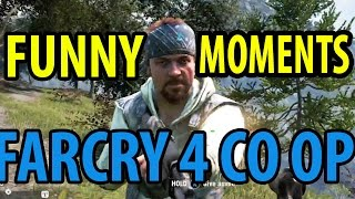 FISHING, HUNTING | FARCRY 4 CO OP FUNNY MOMENTS