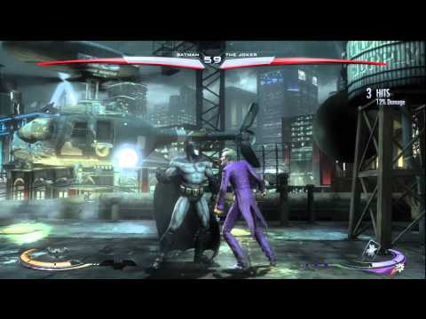 Injustice Gods Among Us: Arkham City Batman vs. Arkham City Joker (DLC)