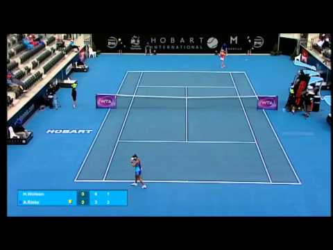 Heather Watson v Alison Riske: Match Highlights (SF) - Hobart International 2015