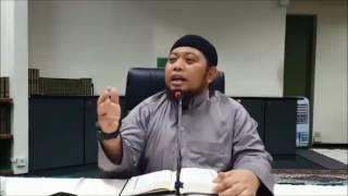 Syarah Bulughul Maram Jil 6 Bab Arak & Bab Ta'zir (Hadis 1086-1090) Ust Saifuddin Amin 17.12.2016