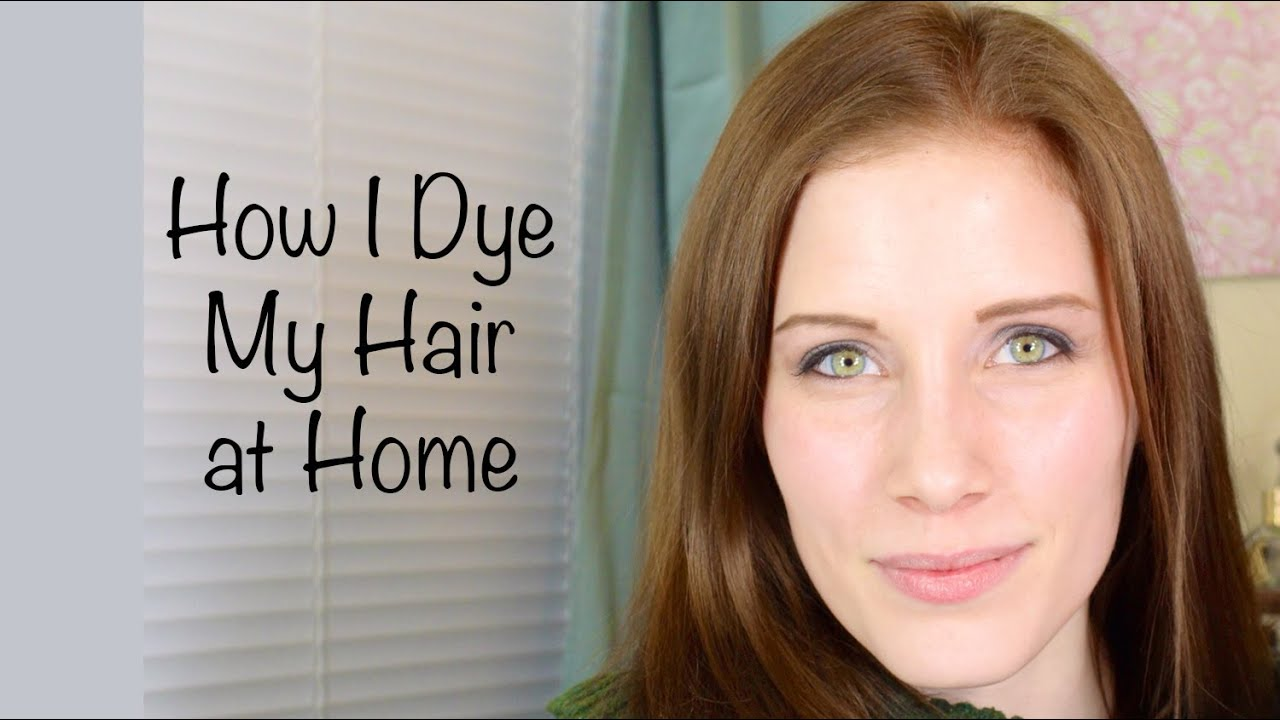 How I Dye My Hair At Home John Frieda Precision Foam