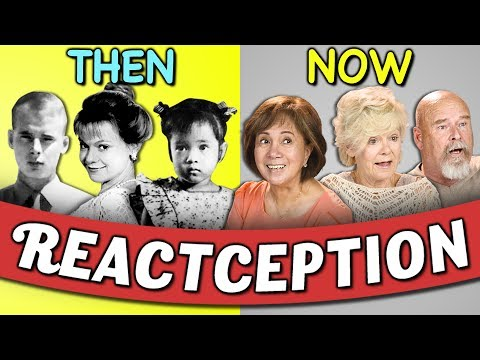 Elders React To Old Pictures Of Themselves 2