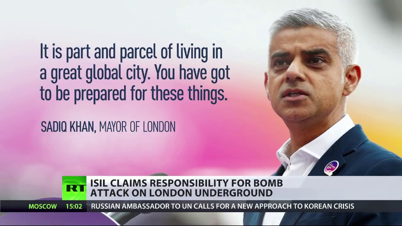 Part & parcel? UK suffers wave of terror attacks after Sadiq Khan's comments