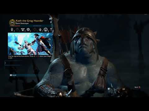 SHADOW OF WAR - WARCHIEF Boss Fight! - Shadow of War Gameplay Walkthrough - Part 5