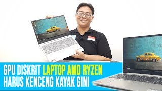 Laptop AMD Ryzen 2500U dengan GPU Radeon 540 Kencang: Review Lenovo Ideapad 330-15ARR - Indonesia