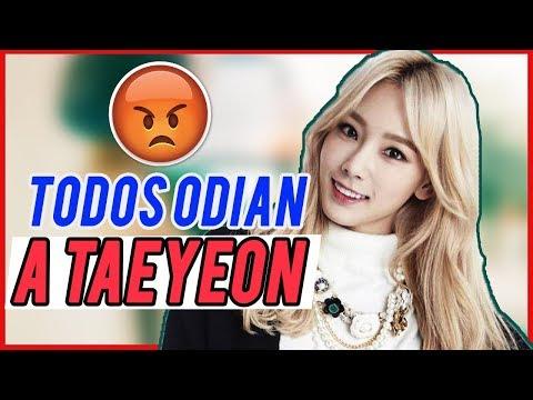 Enojados con TAEYEON // Taeyeon Nuevo Escándalo // Shiro No Yume