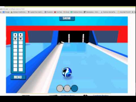 Candlepin Bowling Game For
