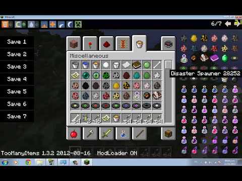 Minecraft mods Capitulo 15: Descargar e instalar mod Desastres Naturales para minecraft 1.3.2